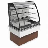 fabricante de vitrine refrigerada suspensa Aspásia